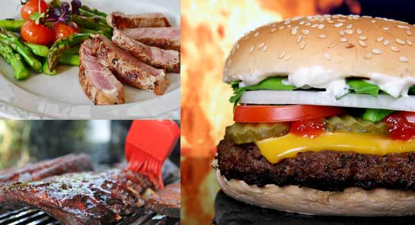 Different Barbecued Foods that can be Served at Country Party.